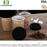 Taza de papel del café caliente de un sólo recinto