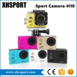 Ultra cámara impermeable portable de la acción DV del deporte de HD 4K WiFi
