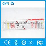 Тонкий плоский красный цвет кабеля данным по Charger&Transfer