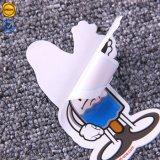 Die-Cut Cutomized niños etiqueta adhesiva de PVC de dibujos animados