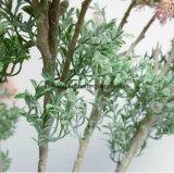 De kunstmatige Slinger van de Kunstbloem van de Lijst van de Bloem van het Huwelijk van de Kunstbloemen van het Boeket van het Huwelijk van Canada van de Hydrangea hortensia Blauwe Decoratieve