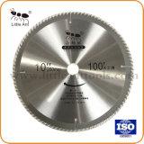 """10の"""" 100tハードウェアのツールの円の炭化物の切断のディスクTctは木及びアルミニウムについては鋸歯を"""