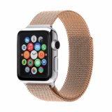 Cinta do engranzamento para a faixa de relógio de Apple, laço milanês para a cinta de Iwatch