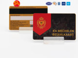4000OE 자석 줄무늬를 가진 고품질 RFID PVC 칩 카드