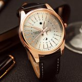 Reloj de lujo del asunto de H368 Yazole para los hombres estrella y el reloj impermeable de los hombres del estilo de la luna
