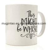 Decalcomania di ceramica della tazza di caffè dei regali di natale della tazza di caffè