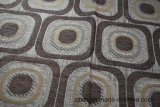 Tissu de sofa de Chenille de Gemotric Afrique (FTH31149)