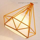 Pingente moderno nórdicos quarto da Lâmpada da Luz do pendente de ferro criativa à beira do leito