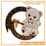 Stampa in lega di zinco più i perni di metallo, Pin del risvolto per il regalo del ricordo (YB-HD-136)