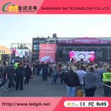 Location de l'extérieur de la publicité pleine couleur Affichage LED avec P3.91, P4.81, P5.95. P6.25 de bord