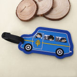 Синий автомобиль форму оптовой индивидуальные метки багажного отделения
