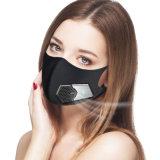 Intelligente wiederverwendbare elektrische Schutzmaske mit Ventilator