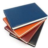2018 Custom New Pu capa dura de couro Notebook diário a5