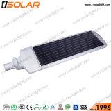 最新のデザインは1つのAio1李イオン電池の太陽動力を与えられた街灯のすべてを統合した