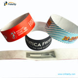 13.56jetables MHz enduit PVC de papier thermique bracelet RFID Tags
