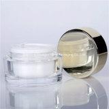 Skincareのための透過50g Acrylic Jar