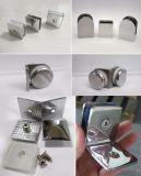 Rondelle Premium inclus en verre satiné Colliers en acier inoxydable