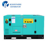 FAW 엔진 디젤 엔진 발전기 세트 디젤 Genset에 의해 강화되는 60Hz 300kw 375kVA Water-Cooling 침묵하는 방음