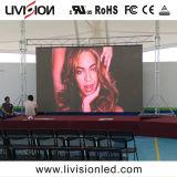 500x500mm Video wall P3.9 Fase Interior de fundo do visor LED