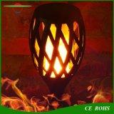 屋内屋外96LEDダンスは庭ランプのUSB充満を用いる太陽トーチライトを炎にあてる