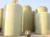 FRP, GRP, Faser-Glas-vertikale Rundbodenbecken-Behälter, Behälter
