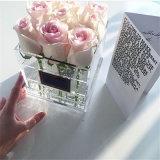 판매를 위한 Handmade 꽃 선물 상자 아크릴 꽃 상자