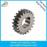 Часть CNC точности нержавеющей стали подвергая механической обработке для производственного оборудования