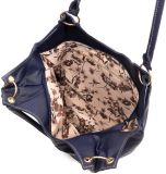 A bolsa de couro Funky marca sacos em linha do desenhador em linha nos sacos de couro da cor diferente da venda