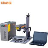 máquina de la marca del laser de la fibra 20With30With50W para el metal con el Ce FDA