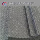 Geprägte Schritt galvanisierte Checkered Platte für Bodenbelag