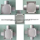 De vierkante Elektro Plastic Manier UPVC Unidirectionele Bidirectionele Vier Met drie richtingen van de Doos