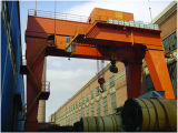 40 طن 50 طن ضعف عارضة سكّة حديديّة يعلى [غنتري كرن] نوعية صاحب مصنع