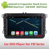 Android 4.4 lecteur de DVD de voiture GPS pour VW Polo