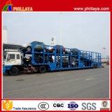 2개의 차축 골격 수출용 자동차 운반선 트레일러 또는 차 수송 트레일러