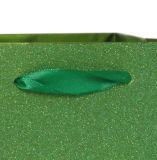 Le dernier sac de cadeau Green Glitter de luxe avec Glister Powder