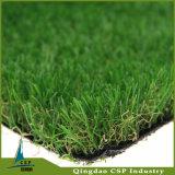 Tappeto erboso artificiale ad alta densità di paesaggio dell'erba esterno