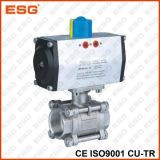 Válvula de esfera pneumática de Esg 301 séries