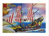 Block-Spielwaren der Piraten-Serien-Entwerfer-Schwarz-Perlen-870PCS