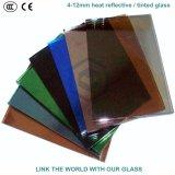 セリウムが付いている4mmヨーロッパの灰色及び暗い灰色の反射の/染められたガラス及びガラス窓のためのISO9001