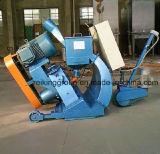 Strada, ponticello, macchina di granigliatura della superficie di calcestruzzo
