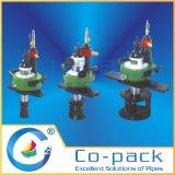 Low Clearance máquina pneumática da tubulação de chanfradura