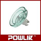 Tipo de nevoeiro Isolador de vidro para a linha de alta tensão (LXHP-240)