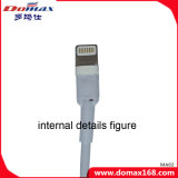 Câble de caractéristiques de remplissage de l'éclairage USB de connecteur de téléphone mobile pour l'iPhone