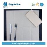 Papel blanco de servilleta sanitaria de /Colored para la cena