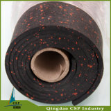 Bon marché fait dans le couvre-tapis en caoutchouc de gymnastique de la Chine pour d'intérieur