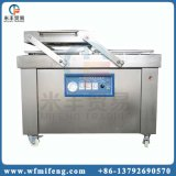 Double machine automatique de fermeture sous-vide de viande de poulet de saucisse de chambre