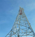 Aibaba Dreieck-Mikrowellen-Antennen-Winkel-Stahlkommunikation Cattice Aufsatz