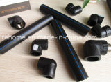 ISO4427 rifornimento il tubo del nero del tubo dell'HDPE di 630mm - di 20mm con PE100 PE80