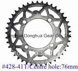 Pignon arrière n° 428-41T/76mm de diamètre de trou du Centre pour Dirt Bike utiliser