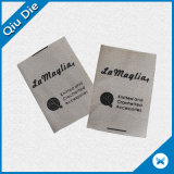 Fabriqué en Chine Soft Cotton Printing Label pour accessoires pour bébés